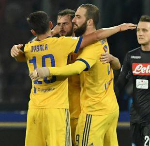 Higuaín fue el verdugo del Napoli en valioso triunfo de Juventus por la Serie A