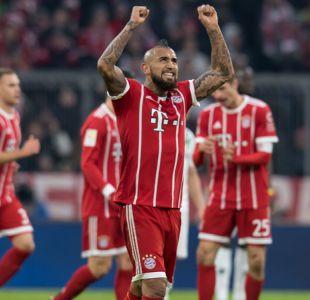 Arturo Vidal vuelve a anotar en triunfo del Bayern sobre Hannover de Miiko Albornoz
