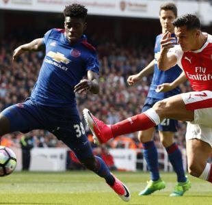 [Minuto a Minuto] Arsenal con Alexis Sánchez perdió ante el Manchester United
