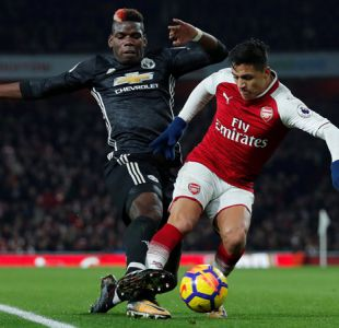 Alexis Sánchez no puede evitar derrota de Arsenal ante Manchester United