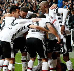 Gary Medel participa en goleada de Besiktas en el derbi ante Galatasaray