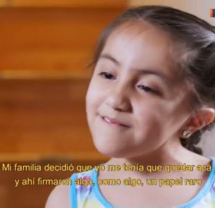 Daiana, la pequeña que emocionó a Don Francisco en la Teletón 2017