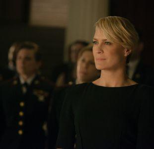 House of cards se reanuda en 2018 con la actriz Robin Wright como protagonista