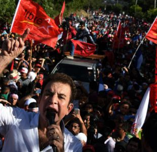 Opositor Nasralla desconoce resultado electoral en Honduras y exige recuento