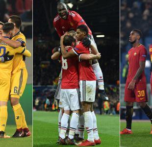 Juventus, Manchester United, Roma y Basilea avanzan a octavos de la Champions