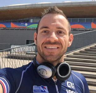 Campeón francés denuncia mal estado del Velódromo de Peñalolén a días del Mundial