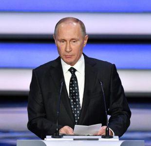 Primera aparición mediática ante la candidatura de Vladimir Putin para un cuarto mandato