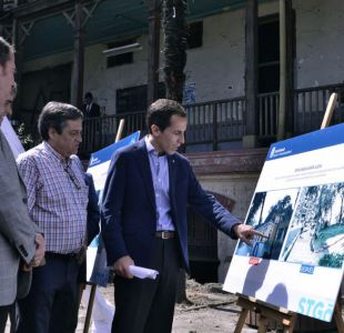 """Alcalde Alessandri presenta el """"Plan de Obras para Santiago 2020"""""""