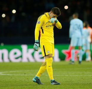 Manchester City pierde su invicto tras garrafal error de su arquero en Champions