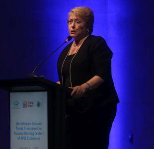 """Bachelet y gratuidad: """"Ahora todo el mundo está a favor"""""""