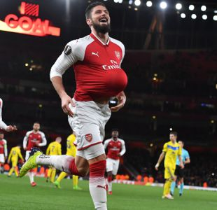 Arsenal se da un paseo en Europa League ante BATE sin Alexis Sánchez