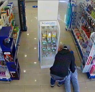 [VIDEO] Expediente secreto: robo a farmacias