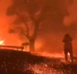 [VIDEO] Alerta roja en Estados Unidos por incendios forestales