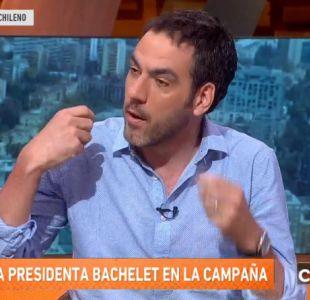 [VIDEO] Francisco Covarrubias y el delantal blanco de la Presidenta Bachelet
