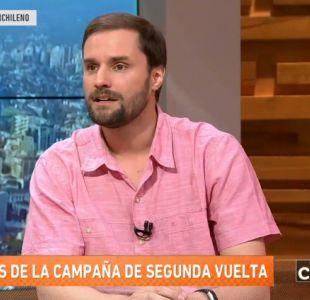 [VIDEO] Jaime Bellolio: Yo no creo que Alejandro Guillier quiera transformar a Chile en Venezuela