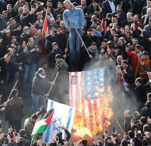 Protestas masivas contra Donald Trump recorren desde el Líbano hasta Afganistán