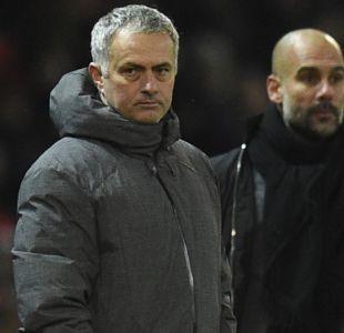 Dardos cruzados entre Mourinho y Guardiola tras el clásico de Mánchester
