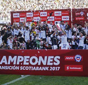 Tabla de posiciones: Revisa la clasificación final del Transición con Colo Colo campeón