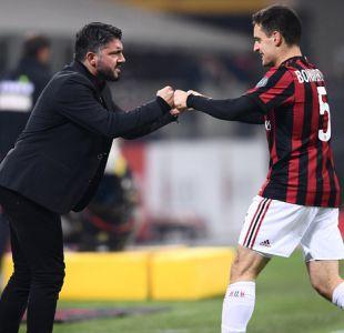 Napoli desaprovecha ser líder de la Serie A y Gattuso consigue su primer triunfo con AC Milan