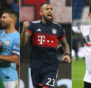 """Chilenos afrontan sorteo de octavos de Champions con riesgo de """"finales anticipadas"""""""