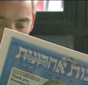 [VIDEO] Brutal ataque a guardia israelí