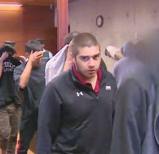 [VIDEO] Diez detenidos por rayar trenes del recorrido Alameda-Nos