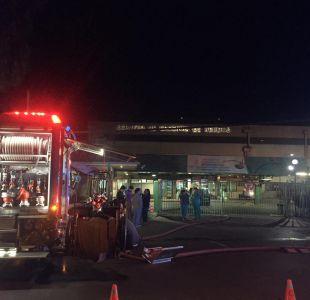 Evacuan de madrugada el Hospital San José por emanación de humo