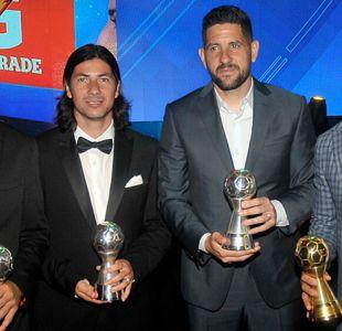 Colo Colo cierra el año dominando el equipo ideal del 2017 en la Liga Chilena