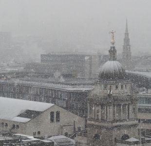 [FOTOS] Las postales que dejó la nevada más fuerte en cuatro años en Reino Unido