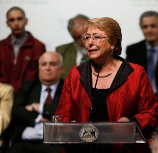 Bachelet califica de absurdas acusaciones de intervencionismo