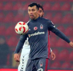 Gary Medel vuelve a la titularidad en empate del Besiktas por la Copa de Turquía