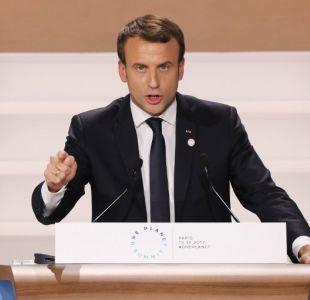 Macron: Estamos perdiendo la batalla frente al cambio climático