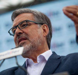 """Alejandro Guillier: """"Quiero mandar un saludo muy afectuoso a toda la gente de Santa Lucia"""