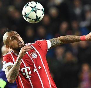 [Minuto a Minuto] Arturo Vidal jugó en triunfo del Bayern Munich ante Colonia por Bundesliga