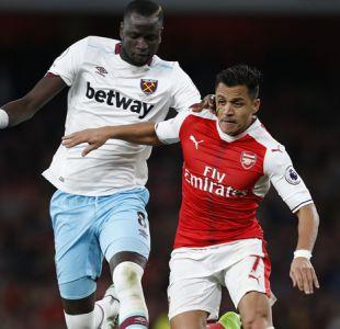 [Minuto a Minuto] Alexis Sánchez jugó en empate del Arsenal frente al West Ham