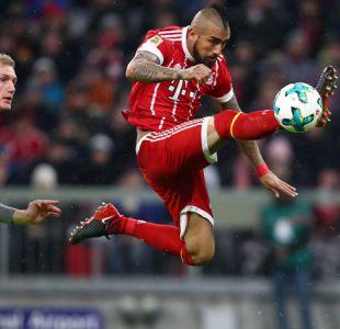 Arturo Vidal juega en triunfo del Bayern que amplía su liderato en la Bundesliga