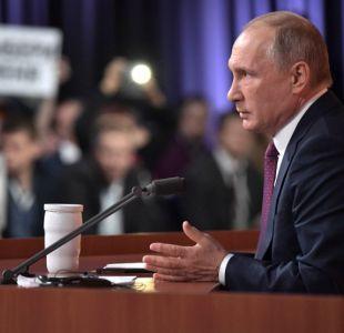 Putin dice que presunta injerencia rusa en EEUU fue inventada por oposición a Trump