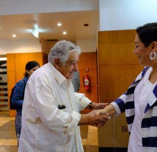 Beatriz Sánchez se reunió con ex presidente uruguayo Pepe Mujica