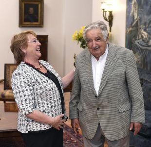 Bachelet tras encuentro con Mujica: Compartimos el sueño de una América Latina más justa