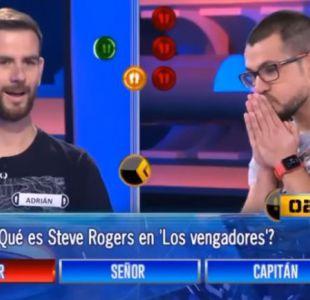 El absurdo error de un joven en un programa de televisión: Tenía la respuesta en su propia polera