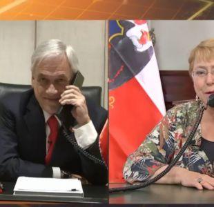 La historia se repite: Bachelet realiza el tradicional llamado para felicitar a Piñera