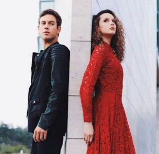 Sebastián Zerené y Fiona Jaederlund