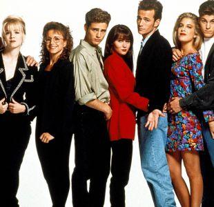 """""""Beverly Hills 90210"""" fue una popular serie de los años 90"""