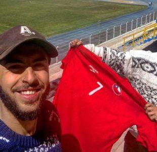 Los chilenos que viajan a pie al Mundial ahora analizan a qué equipo alentar