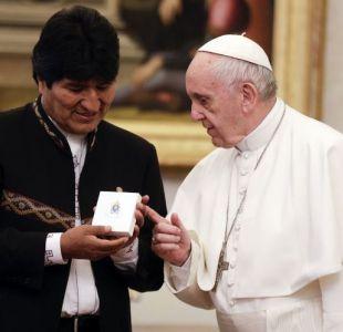 Evo Morales relata encuentro con el Papa Francisco asegurando que conversamos sobre el mar