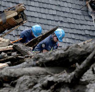 Cifra de muertos sube a 13 por aluvión en Chaitén