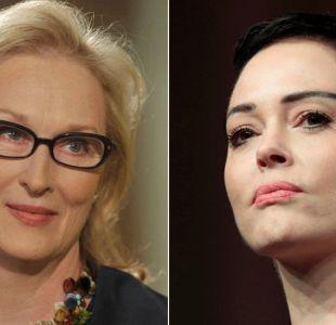 La pelea entre Rose McGowan y Meryl Streep por caso Weinstein y abusos sexuales en Hollywood