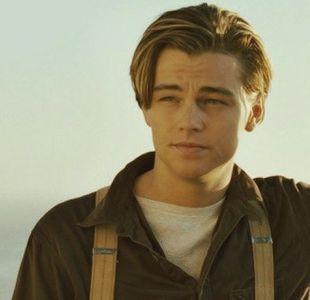 """Leonardo DiCaprio en su clásico rol en """"Titanic"""""""
