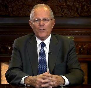 Parlamentarios peruanos presentan nueva solicitud de vacancia contra presidente Kuczynski