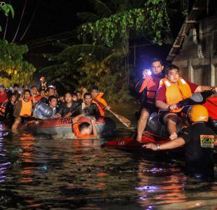 El número de muertos en la tormenta tropical en Filipinas sube a 133
